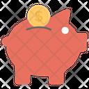 Piggy Bank Penny Bank Save Money Icon