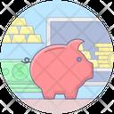 Piggy Bank Money Bank Money Box Icon