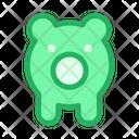 Piggy Piggy Bag Money Storage Icon