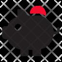 Piggy Bank Savings Bank Icon
