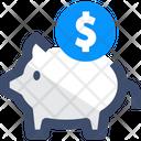 Bank Piggy Bank Savings Icon