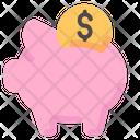 Pig Bank Saving Icon