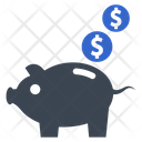 Budget Finance Piggy Bank Icon