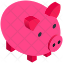 Business Finance Piggy Bank Icon