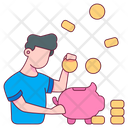 Pig Money Safe Icon