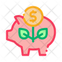Pig Money Box Icon
