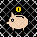 Piggy Coin Saving Icon