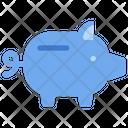 Piggy Saving Financial Icon