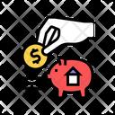 Put Money Piggy Icon