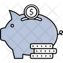 Saving Account Coin Icon