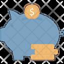 Saving Account Coin Icon