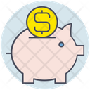 Business Piggy Bank Icon