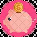 Saving Piggy Bank Savings Icon