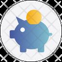 Piggy Bank Saving Bank Icon