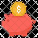 Penny Bank Piggy Bank Money Savings Icon