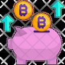 Piggy Bank Money Savings Icon
