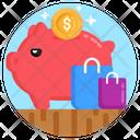 Penny Bank Piggy Bank Savings Icon
