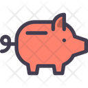 Piggy Bank Piggy Saving Icon