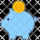 Piggy Bank Penny Bank Money Collection Icon