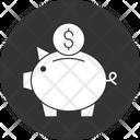 Piggy Bank Coins Coins Collection Icon