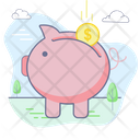 Banking Saving Money Icon