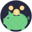 Piggy Bank Savings Icon