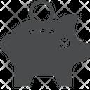 Piggy Bag Piggy Bank Saving Money Bank Icon