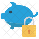 Bank Lock Protect Icon