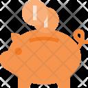 Piggy Banking Savings Icon