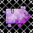 Piggy Bank Banking Icon