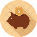 Dollar Money Box Icon