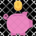 Box Pig Coin Icon
