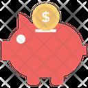 Piggy Bank Savings Piggy Box Icon