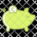 Piggy banking Icon