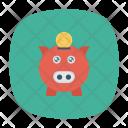 Piggy Piggybank Banking Icon