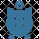 Piggy Banking Bank Icon