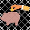 Piggy Bank Savings Icon