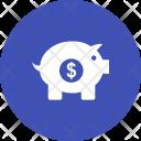 Banking Savings Piggy Icon