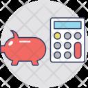 Piggy Calculator Icon