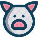 Piggy Face Icon