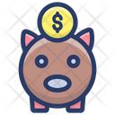 Piggy Money Icon