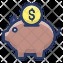 Piggy Money Bank Piggy Bank Money Bank Icon