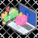 Piggy Bank Money Savings Piggy Moneybox Icon