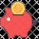 Piggy Savings Penny Bank Piggy Bank Icon