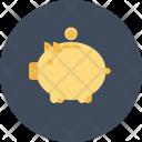 Piggybank Coin Cash Icon