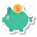 Piggybank Currency Cash Icon