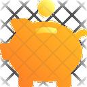 Piggybank Bank Coin Icon
