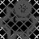 Piggybank Piggybank Bitcoin Piggybank Icon