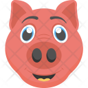 Piglet Face Baby Icon