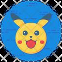 Pokemon Pikachu Character Icon